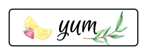 """Yum"" Ultimate Lemonade Stand Label"