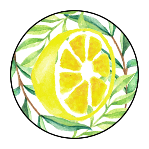 Decorative Lemonade Stand Sticker
