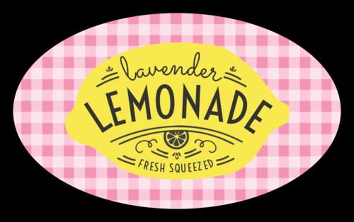 "Plaid ""Fresh Squeezed"" Lemonade Stand Label"