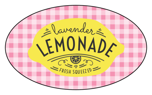 "Plaid ""Fresh Squeezed"" Lemonade Stand Label"