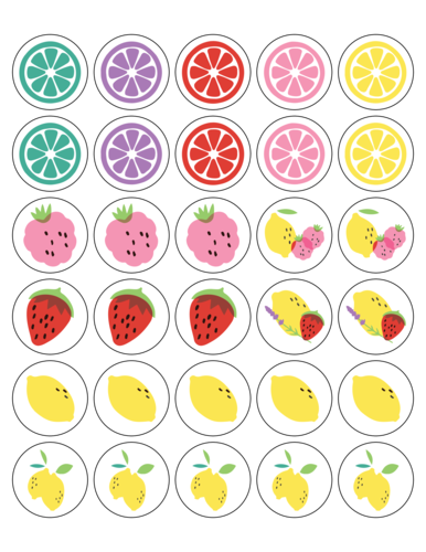 Assorted Lemonade Stand Sticker
