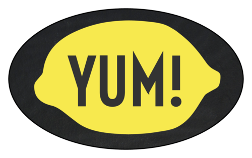 """Yum!"" Lemonade Stand Label"