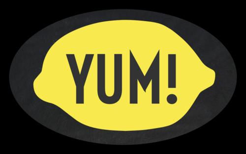 """Yum!"" Lemonade Stand Label"