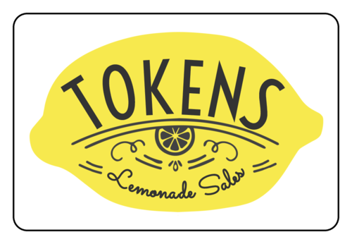 Lemonade Stand Token Collection Label