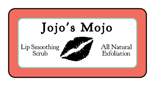 Exfoliating Lip Scrub Label