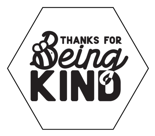 """Thanks For Being Kind"" Soap Label"