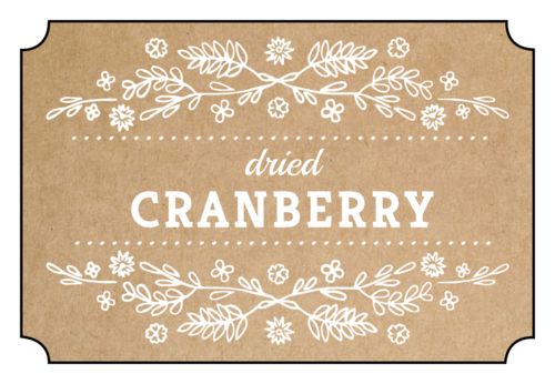 Kraft Style Farmhouse Pantry Labels
