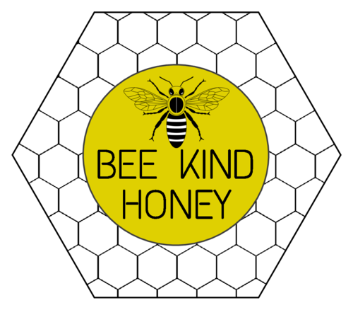 Honeycomb Beehive Honey Jar Label