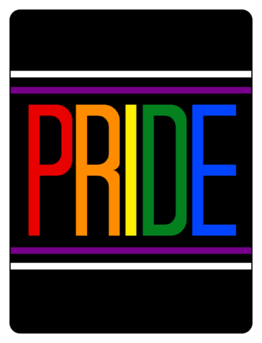 PRIDE Beer Bottle Label