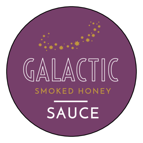 """Galactic"" Celestial Sauce Bottle Label"