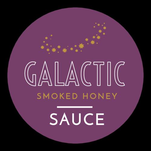 """Galactic"" Celestial Sauce Bottle Label"