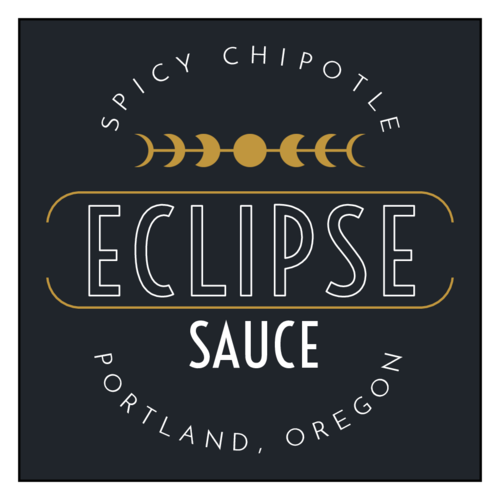 """Eclipse"" Celestial Sauce Bottle Label"