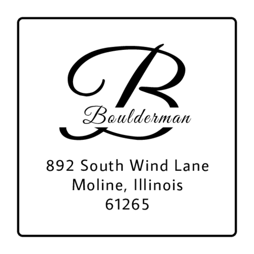 Traverse Initial Address Label