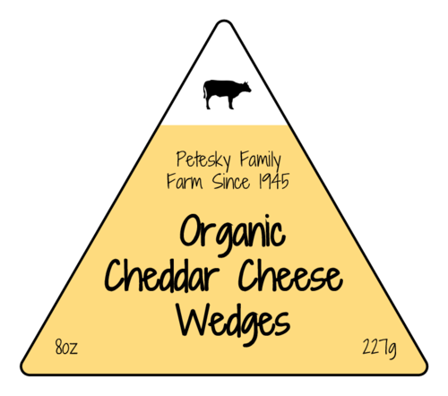 Triangular Cheese Wedge Product Label