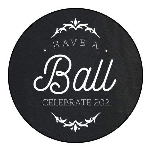 """Have a Ball"" New Year's Eve Label"