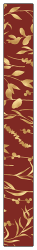 Floral Thanksgiving Gift Seal Label