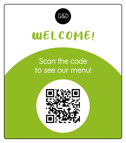 Simple Contactless QR Code Menu