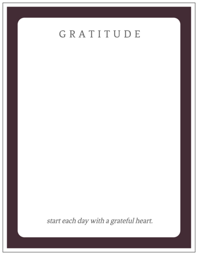 "New Year's Fill-In ""Gratitude"" Reminder Sticker"