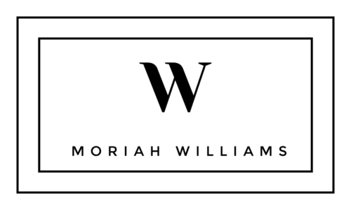 Minimalist Monogram & Name Label