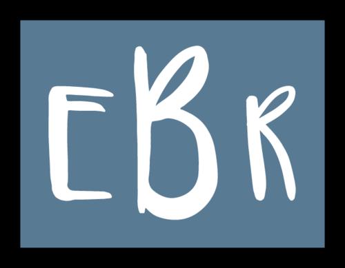 Three Initial Color Coded Monogram Label