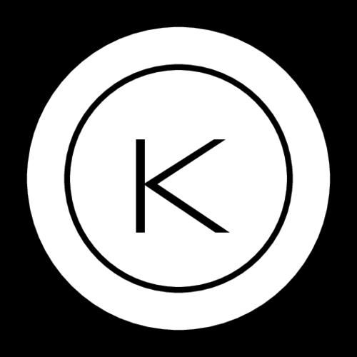 Minimalist Monogram Circle Label