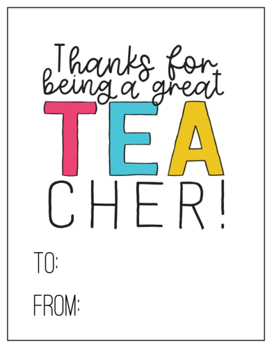 Tea-cher Thank You