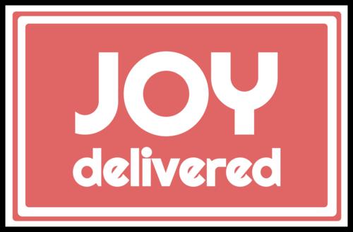 Joy Delivered Package Label