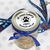 "2.5"" weatherproof polyester laser Mason jar lid label for pet bakery"