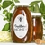"""3.25"""" x 2"""" oval labels on white gloss inkjet used on a glass honey jar"""