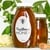 "3.25"" x 2"" oval labels on weatherproof white gloss inkjet used on a glass honey jar"