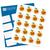 Thank You Tangerine Labels - Full Label Sheet