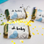 Oh Baby Mini Candy Bar Labels (Blue) - Pre-Printed Baby Shower Labels