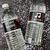 Birthday Bash (Black, Blue, Red) - Pre-Printed Water Bottle Labels