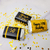 Happy 50th Birthday Labels (Gold) - Pre-Printed Candy Favor Labels
