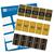 Happy 60th Birthday Labels (Gold) - Full Label Sheet