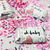 Oh Baby Mini Candy Bar Labels (Pink) - Pre-Printed Baby Shower Labels