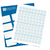 It's a Boy Kiss Candy Labels (Blue) - Full Label Sheet