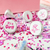 It's a Girl Kiss Candy Labels (Pink) - Pre-Printed Baby Shower Candy Labels