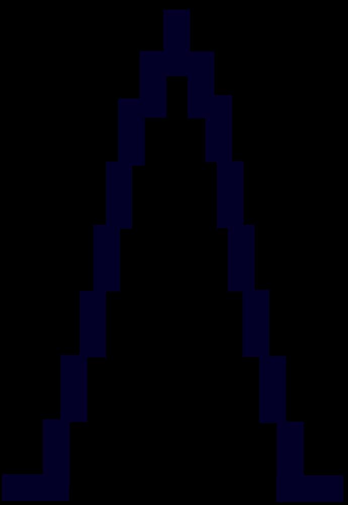 OnlineLabels Clip Art - skyscraper silhouette