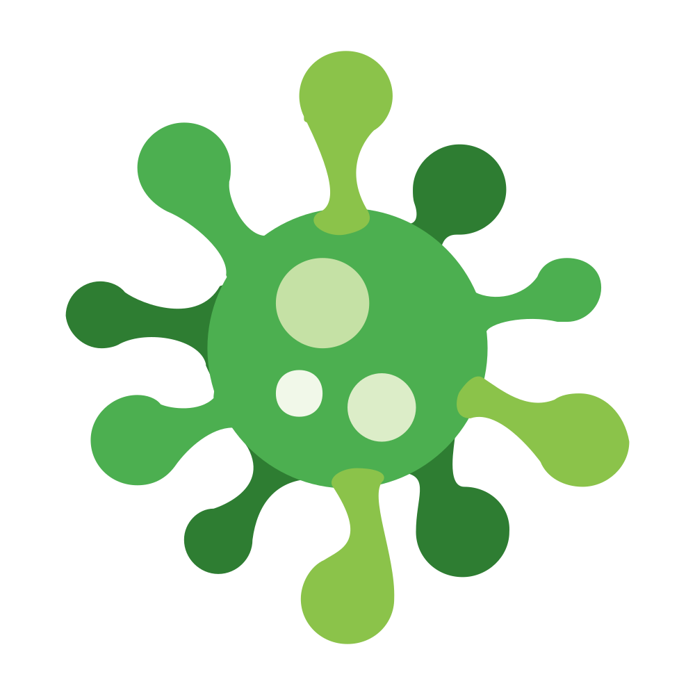 OnlineLabels Clip Art - Virus