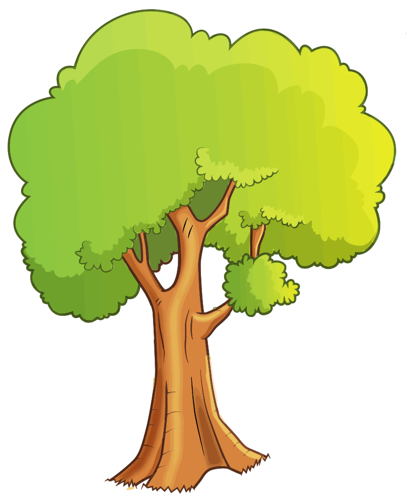 Onlinelabels Clip Art Cartoon Tree Isolated Use them in commercial designs under lifetime, perpetual & worldwide rights. onlinelabels clip art cartoon tree