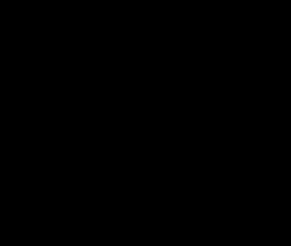 OnlineLabels Clip Art - Wolf Silhouette 2