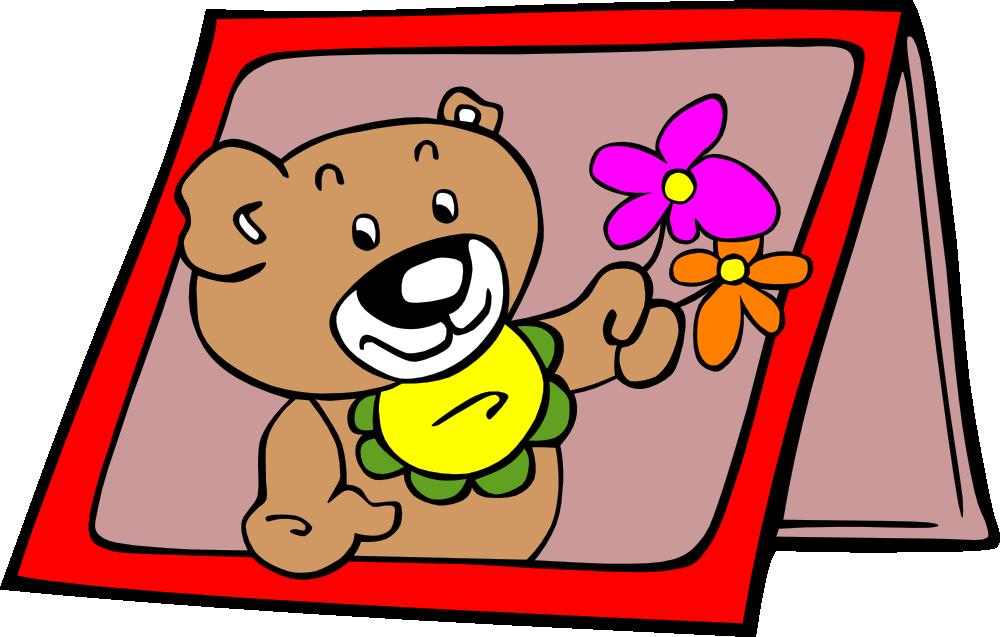 onlinelabels clip art  birthday card
