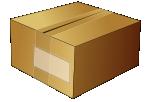 Simple cardboard box