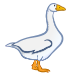 goose - coloured