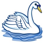 swan - coloured