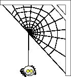ragno with a half web