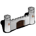 RPG map symbols Gate