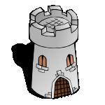 RPG map symbols Round Tower