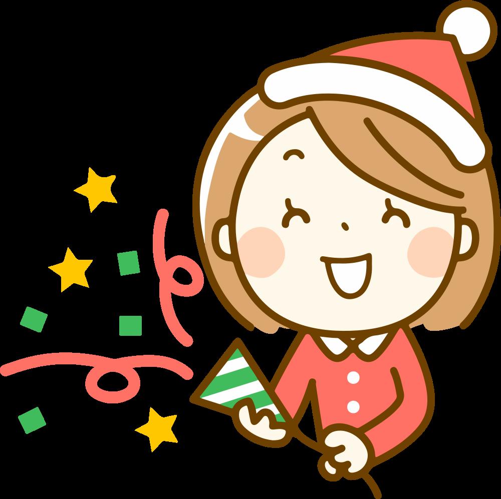 OnlineLabels Clip Art - Christmas Cracker (1000 x 997 Pixel)